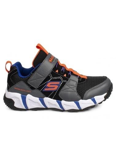 Skechers Skechers 98241L Velocitrek Gri - Siyah Erkek Çocuk Yürüyüş Ayakkabısı Gri